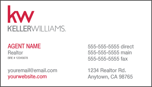 KW Business Card - BC1
