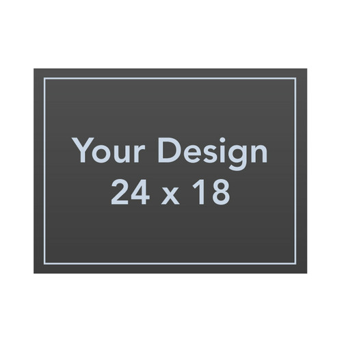 "Custom 24 x 18 1/8"" PVC Sign Panel"
