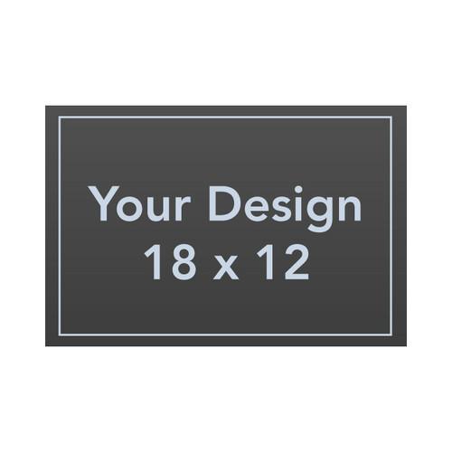 "Custom 18 x 12 1/8"" PVC Sign Panel"