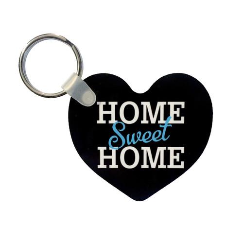 """Home Sweet Home"" Black Key Tag"