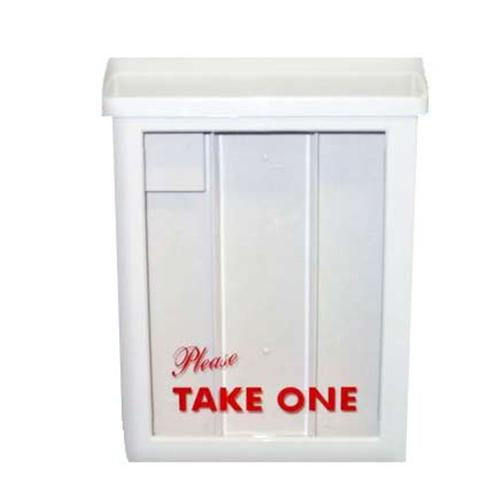 White Brochure Box