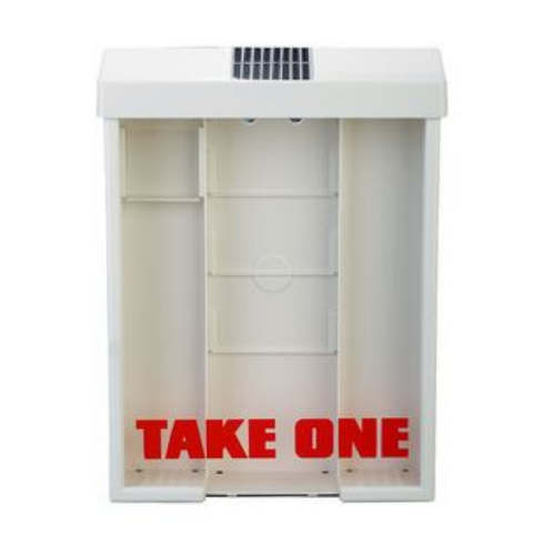 Solar Powered Brochure Box