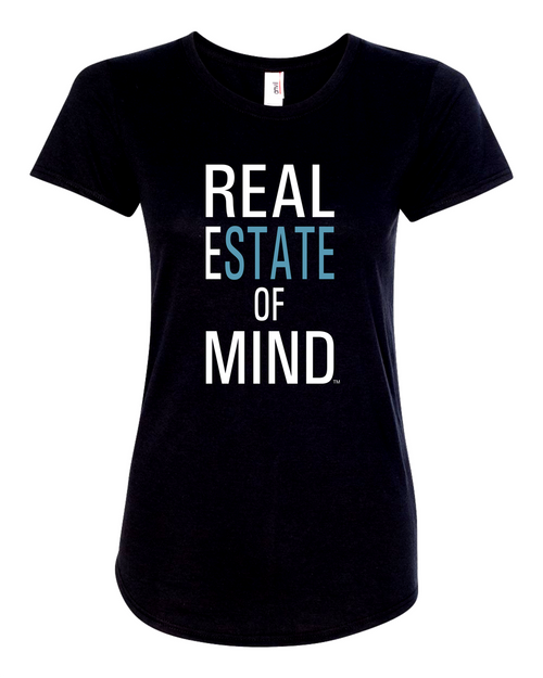 Real Estate Of Mind™ Women's Crew Neck T-Shirt