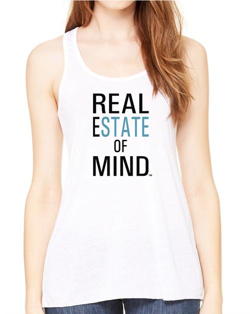 Real Estate Of Mind™ Women's Flowy Racerback Tank