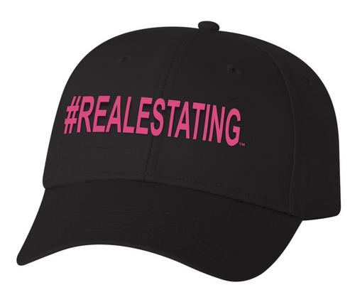 #REALESTATING™ Snapback Hat