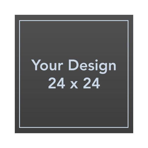 Custom 24 x 24 4mm Coroplast Sign Panel