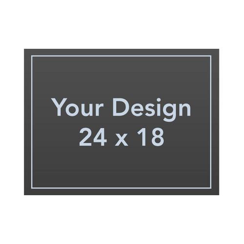 Custom 24 x 18 AluComp Sign Panel