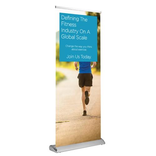 Custom Deluxe Retractable Banner & Stand