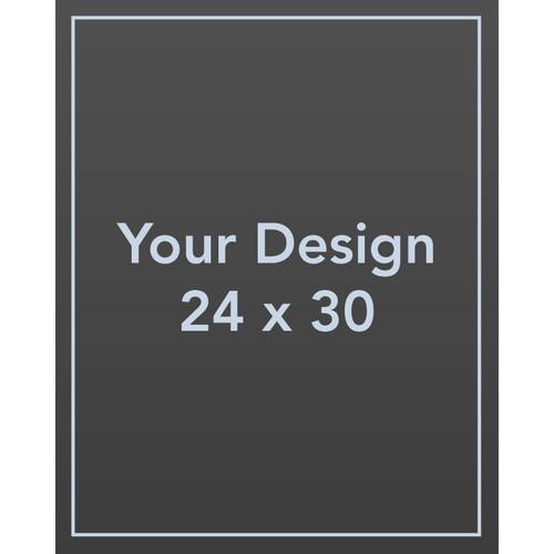 "Custom 24 x 30 1/8"" PVC Sign Panel"