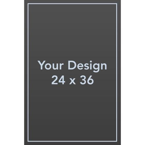 "Custom 24 x 36 1/8"" PVC Sign Panel"