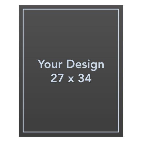 Custom 27 x 34 AluComp Sign Panel