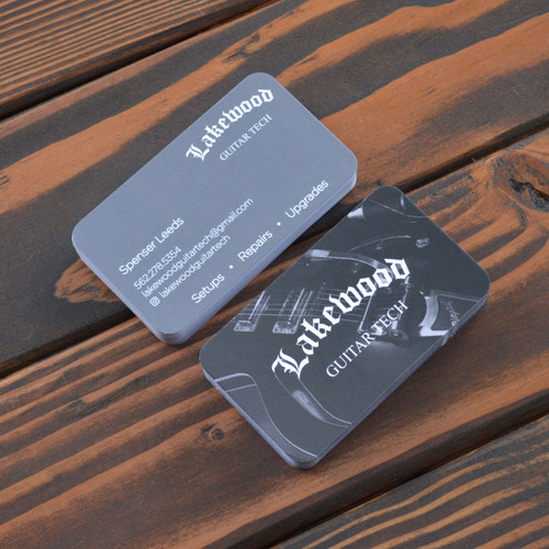 Custom Business Cards w/ Rounded Corners