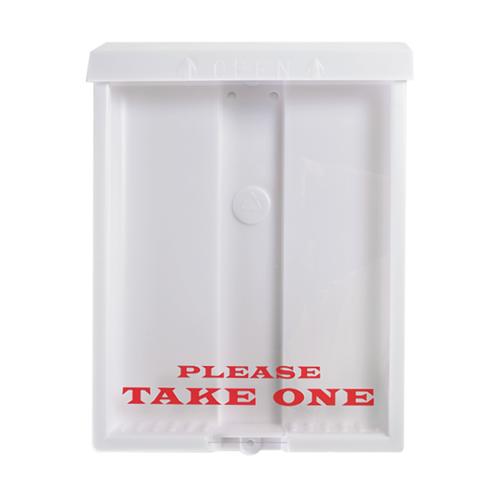 Standard White Outdoor Brochure Box