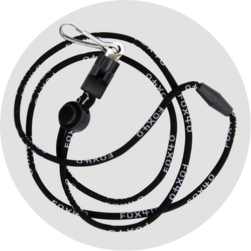 Fox 40 Breakaway Lanyard with P.T. System Adapter