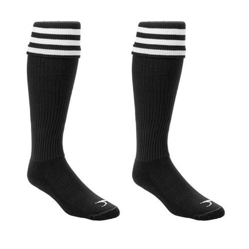 Pro 3-Stripe Soccer Referee Socks