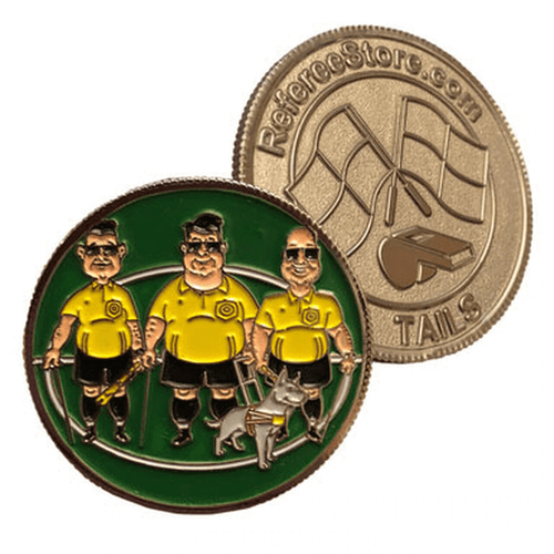 """""""Blind Referees"""" Coin"""