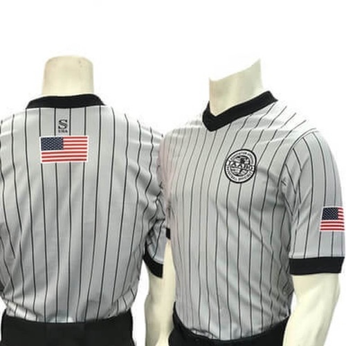 IAABO Body Flex Gray Men's Shirt