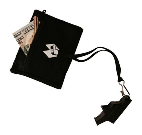 Sweat Wristband w/Zip Pocket