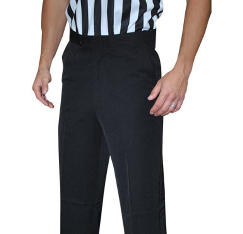 Smitty Flat Front Pants with Slash Pockets