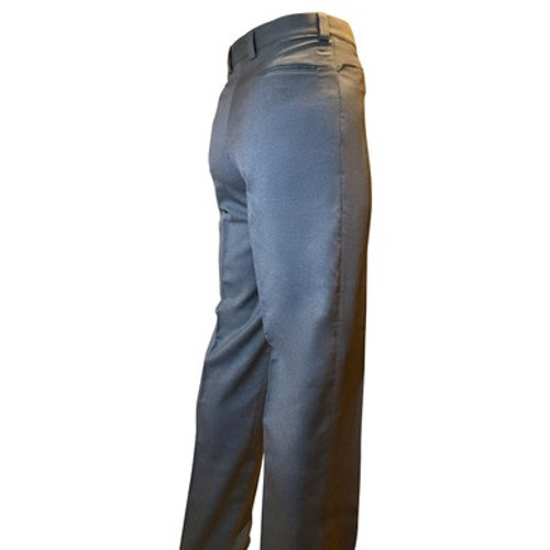 Base Umpire Flat Front Pants with Western Cut Pockets