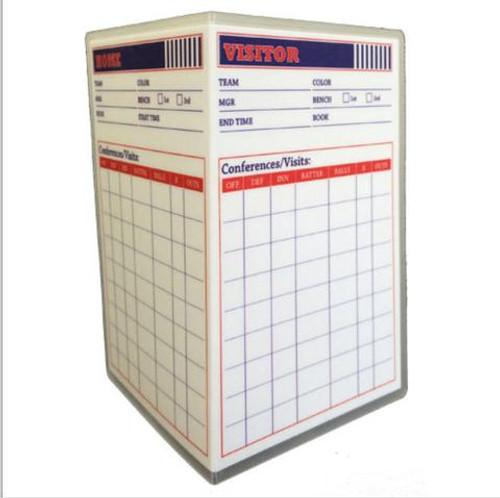 REF SMART Reusable Baseball Umpire Game Card