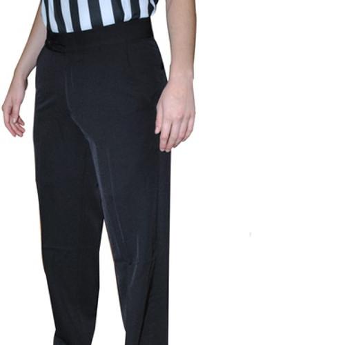 Women's 4-Way Stretch Flat Front Pants w/Slash Pockets