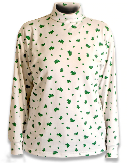 Women's Shamrock Turtleneck