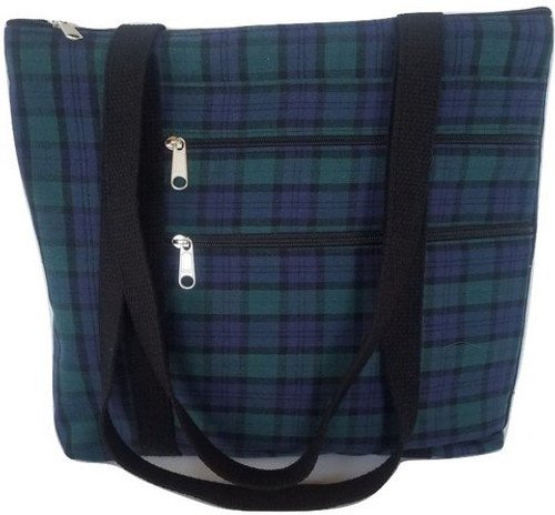 Black Watch Plaid Purse