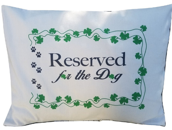 A pillow case for JUST the dog, regular size. Screen printed, washes great. USA