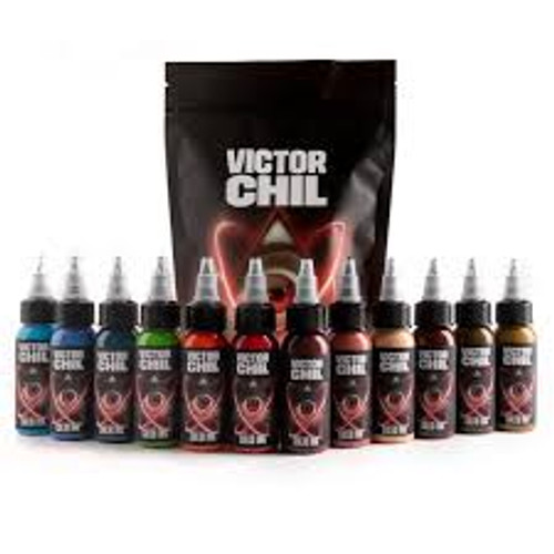 1OZ VICTOR CHIL'S CHIL BLUE - SOLID INK