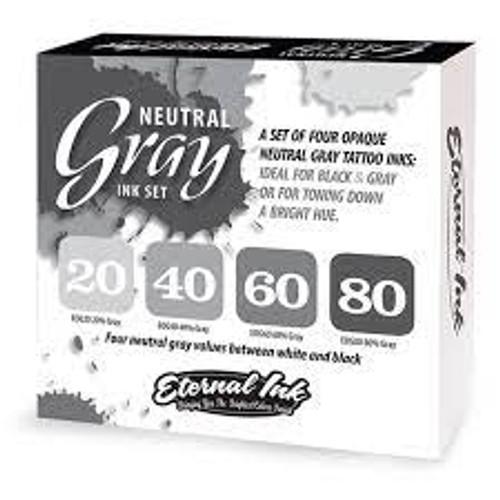 Eternal Neutral Opaque Gray 1oz set