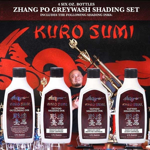 Kuro Sumi Ink - Zhang Po Shading Set