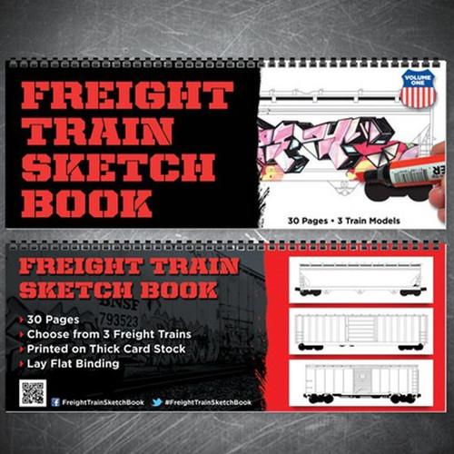 Freight Train Sketch Book