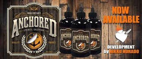 Anchored stencil solution -