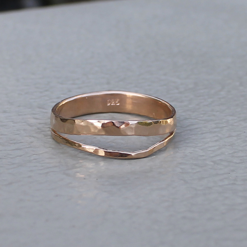 equality ring rose gold