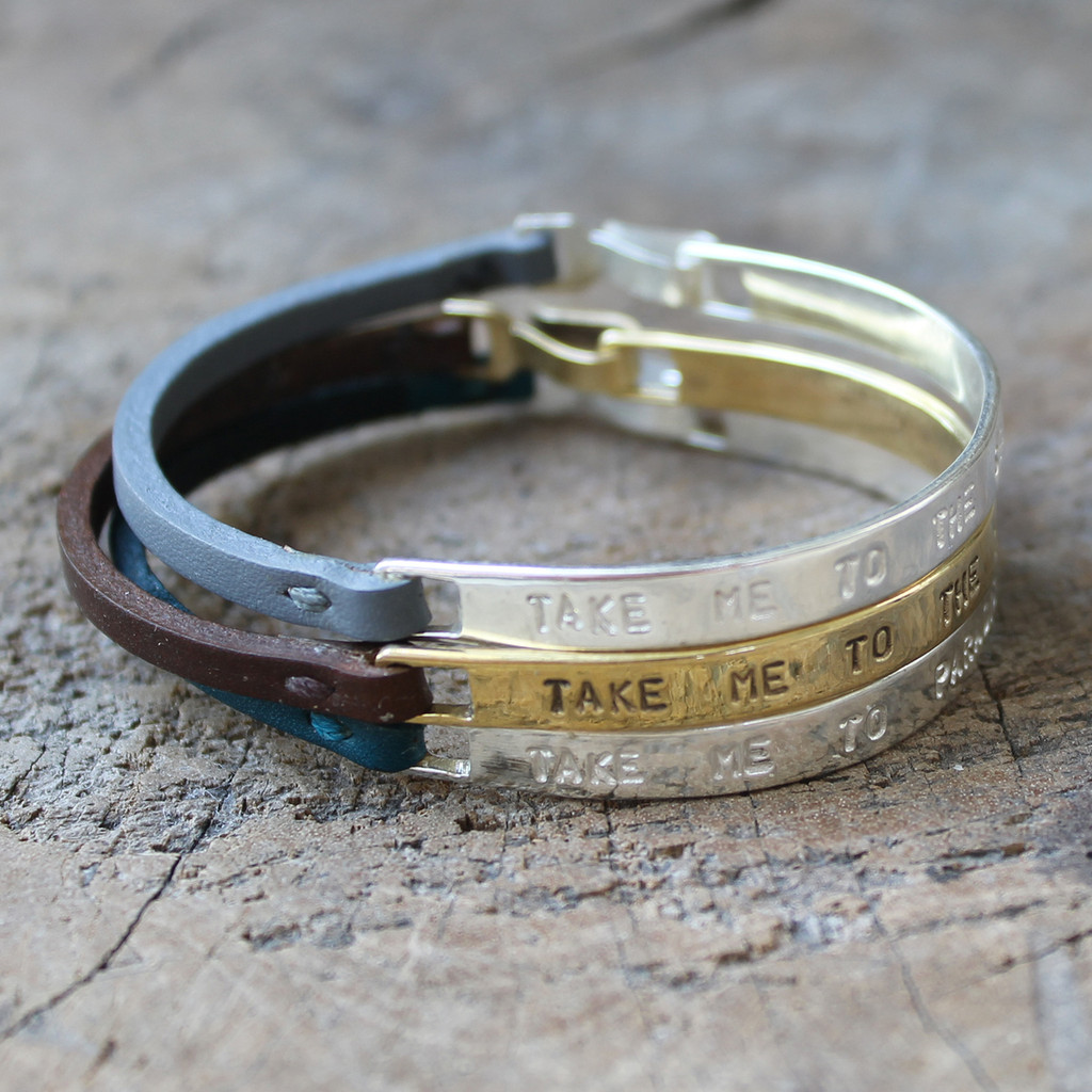 Inspirational bracelet stack