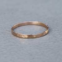 discover ring in rose gold