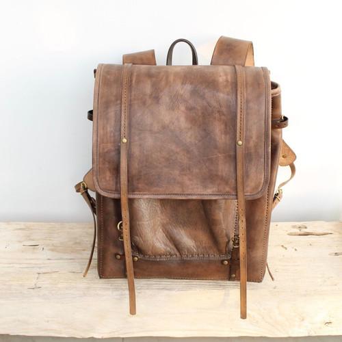 NEW - Mocha one of a kind backpack