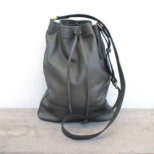 Sample - Grey  - serenity bucket bag
