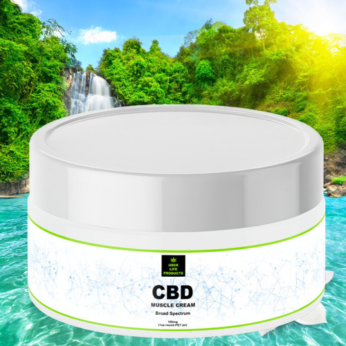CBD Muscle Cream 100mg