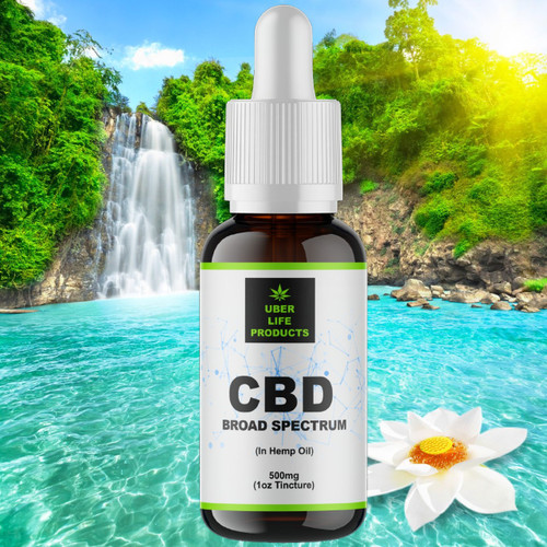 Natural CBD Tincture 500mg