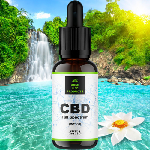 Natural CBD Tincture 2000mg