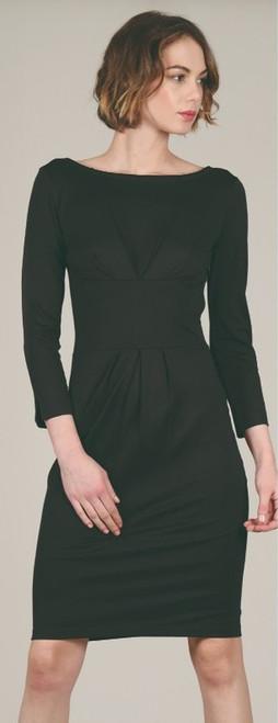Coat Neck Dress