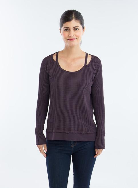 Slit Neck Sweater