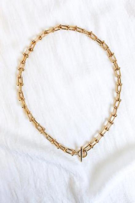 Burke Necklace-Gold