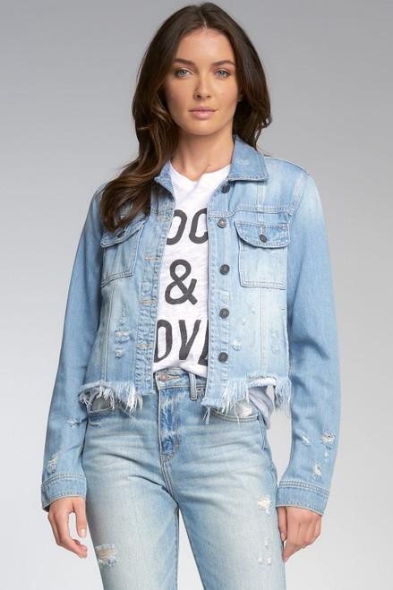 Jacket w Fray Btm