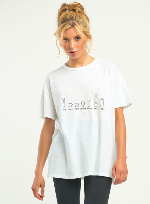 SS GRAPHIC DRINKS TEE