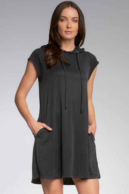 Dress Cap Slv w/Hood