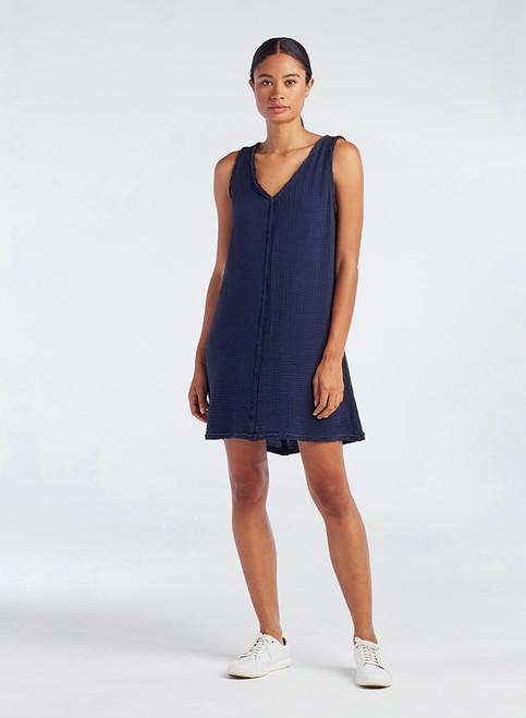 Easy Double V Dress