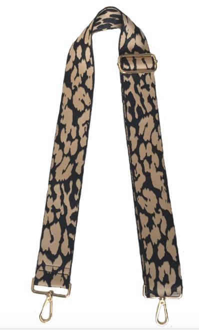 Animal Strap Khaki Leopard